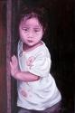 Art gallery - little girl