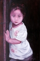 Art gallery - little girl