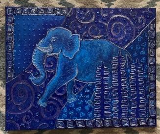 Blue elephant IMG_2178