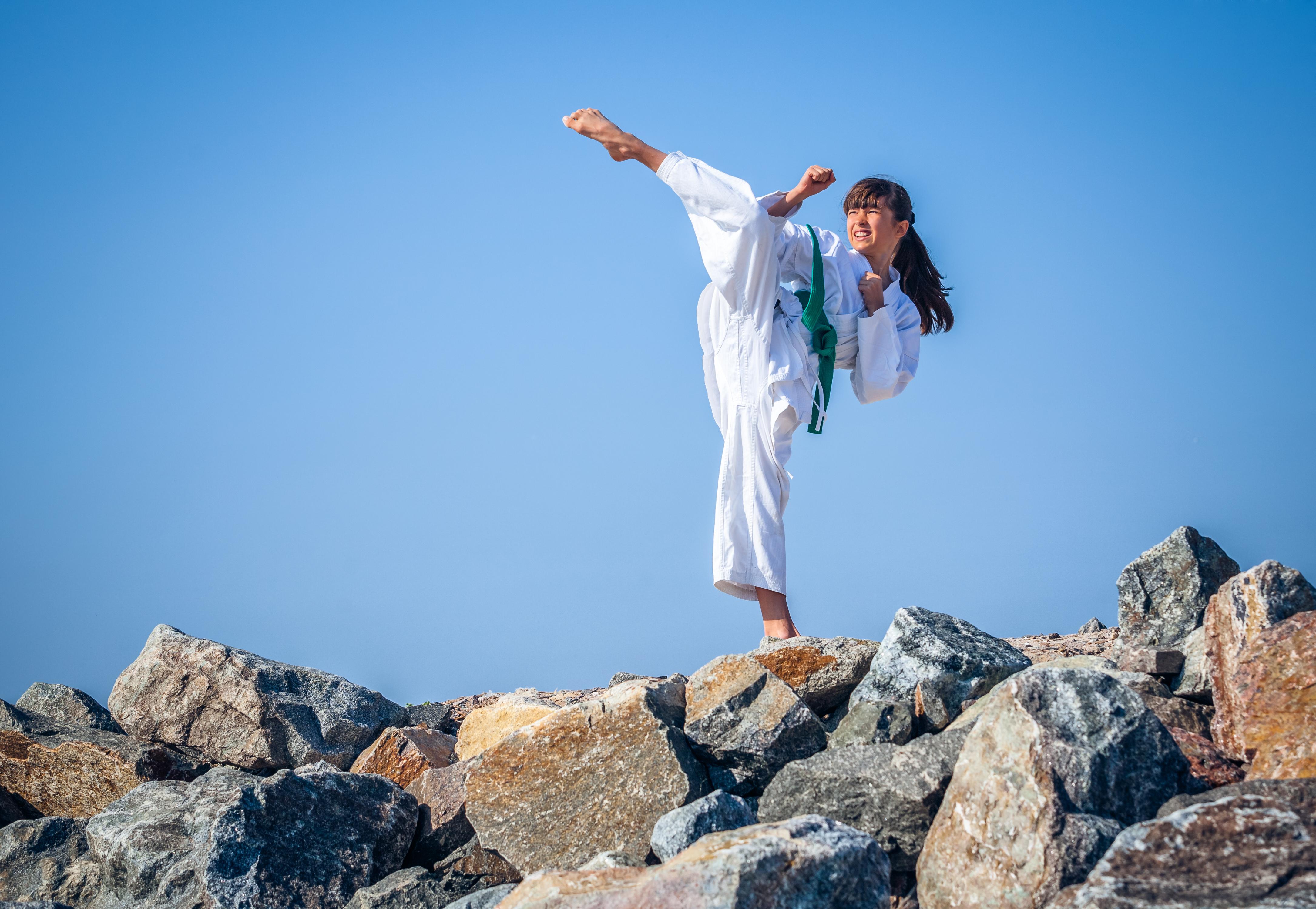 girl martial arts - shutterstock_149368601