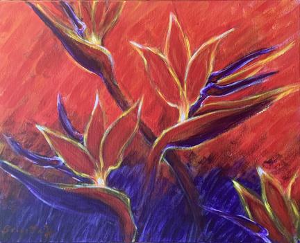 Birds of paradise - Freedom - small size IMG_3456